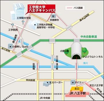 キヤンパス地図